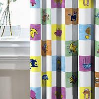 Комплект Декоративных Штор в детскую Испания Детские картинки, арт. MG-131073, 170*135 см