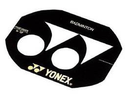 Трафарет для нанесення логотипу на ракетки Yonex Badminton Stencil AC418