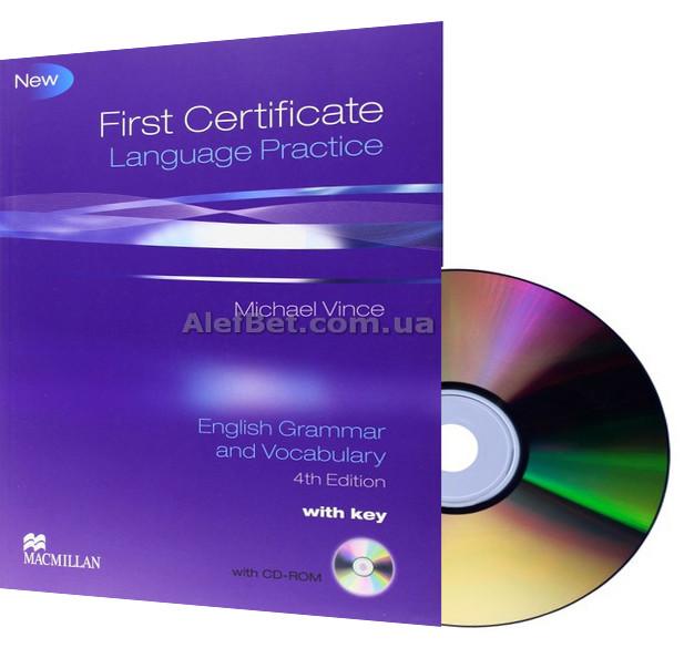 Английский язык / Подготовка к экзамену: First Certificate Language Practice 4: Student's Book+CD / Macmillan