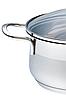 Каструля з кришкою з нержавіючої сталі Maestro MR-3508-26 (7 л)   набір посуду Маестро   каструлі Маестро, фото 6