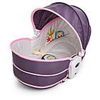 Детская люлька-качалка 6033 серо-розовая ***, фото 4