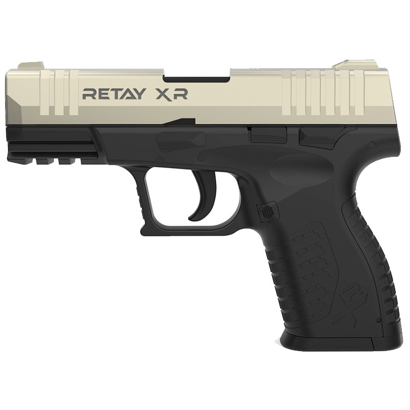 Пистолет сигнальный, стартовый Retay XR (9мм, 14 зарядов), сатин