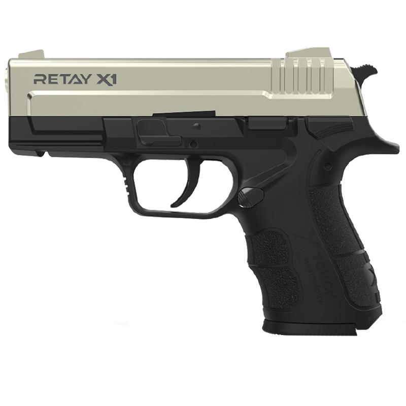 Пистолет сигнальный, стартовый Retay Springfield eXtreme Duty/XD X1 (9мм, 15 зарядов), сатин