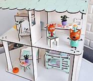 Комплект постельного белья (хлопок) на три спальных места для кукол LOL (ЛОЛ), 9 ед., фото 7