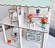 Комплект постельного белья (хлопок) для кукольного домика для кукол LOL (ЛОЛ), 6 ед., фото 6