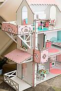 Набор текстиля в кукольный домик NestWood Стандарт/Люкс/Люкс Плюс (для кукол Барби), фото 9