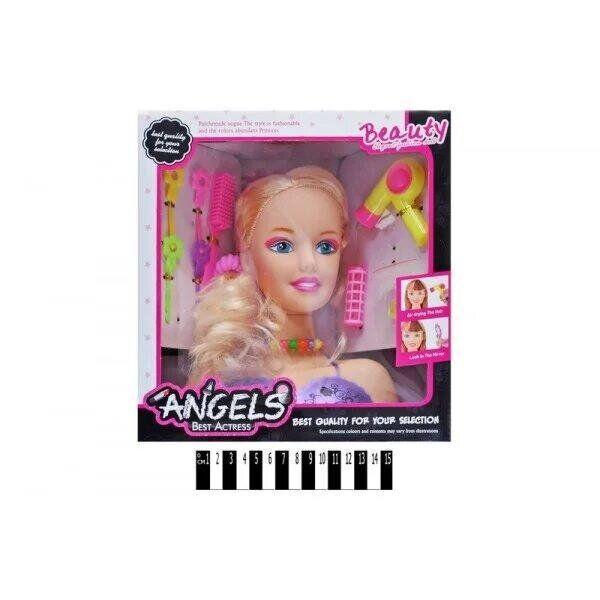 Голова куклы angels аксессуары 1377-4
