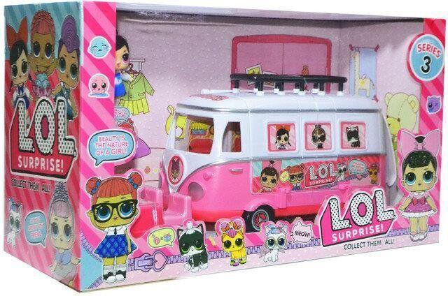 """Игровой набор """"Автобус с куклами"""" LOL TM855B"""