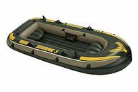 Лодка надувная 3-х местная Intex 68349