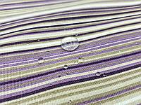 Тефлоновая ткань ДУК принт ПОЛОСКА МЕЛКАЯ фиолет