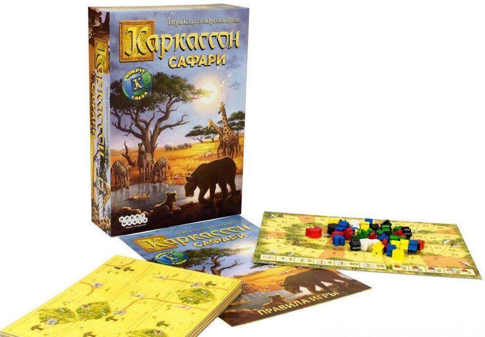 Настольная игра Каркассон HobbyWorld Сафари