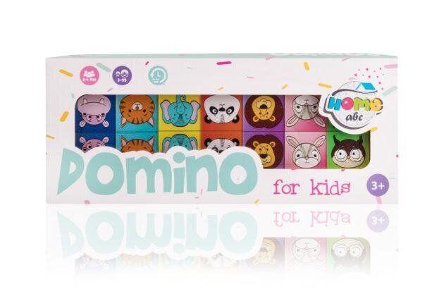 Детское домино Животные DOMINO Animals color set (ABC Home)