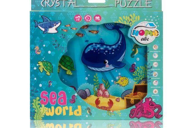 Кристальный пазл из оргстекла Crystal Puzzle SEA world (ABC Home)