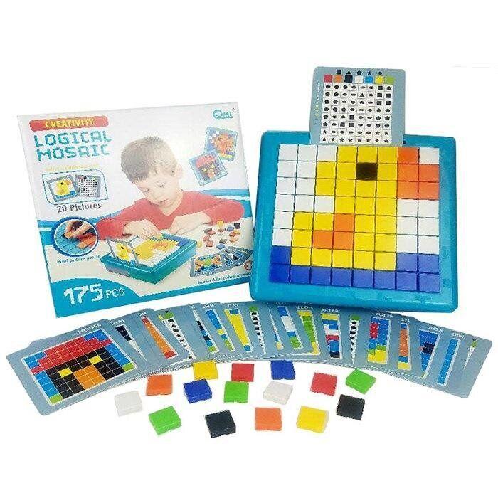 """Детская мозаика """"Logical mosaic"""" M7G (175 деталей)"""