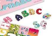 Детские Английский магнитный алфавит (ABC Home), фото 3