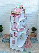 """Большой игровой набор NestWood """"Дом приключений"""" розовый для кукол ЛОЛ с мебелью и аксессуарами, фото 4"""