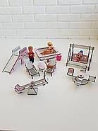 """Большой игровой набор NestWood """"Дом приключений"""" розовый для кукол ЛОЛ с мебелью и аксессуарами, фото 5"""