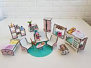 """Большой игровой набор NestWood """"Дом приключений"""" розовый для кукол ЛОЛ с мебелью и аксессуарами, фото 6"""