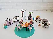 """Большой игровой набор NestWood """"Дом приключений"""" розовый для кукол ЛОЛ с мебелью и аксессуарами, фото 7"""