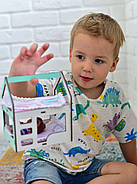 Двухъярусная кроватка домик для кукол LOL, фото 4