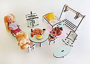 """Кукольный домик NestWood модный """"Большой особняк для кукол ЛОЛ"""" + Подарок мебель 9 ед., фото 9"""