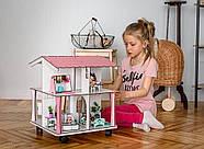 Кукольный домик NestWood 4х-сторонний для ЛОЛ на подставке с колесиками, фото 5