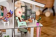 Кукольный домик NestWood 4х-сторонний для ЛОЛ на подставке с колесиками, фото 6