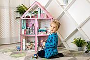 """Кукольный домик для Барби NestWood """"СТАНДАРТ"""" 5 комнат (101см), без мебели, фото 2"""