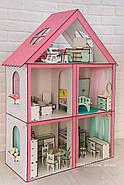 """Кукольный домик для Барби NestWood """"СТАНДАРТ"""" 5 комнат (101см), без мебели, фото 4"""
