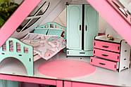 """Кукольный домик для Барби NestWood """"СТАНДАРТ"""" 5 комнат (101см), без мебели, фото 7"""