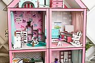 """Кукольный домик для Барби NestWood """"СТАНДАРТ"""" 5 комнат (101см), без мебели, фото 9"""