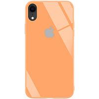 "Чехол для Apple iPhone XR (6.1"") TPU+Glass, GLOSSY, Logo series"