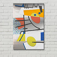 Декорация стен Настенный декор Абстрактная картина Цветная картина Геометрический рисунок Холст для живописи