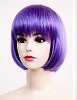 Парик фиолетовый каре
