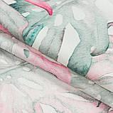 Штори в Дитячу кімнату MacroHorizon Монстера Рожево-сірий (MG-DET-160962), 170*135 см, фото 2