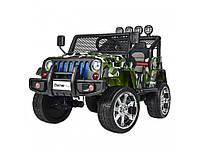 Детский электромобиль Jeep. Bambi Racer M 3237EBLR-18