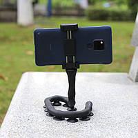 Селфиножка держатель для телефона универсальная подставка для смартфона черная Код МН-24
