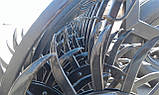 Нова Ротаційна борона мотика John Deere Yetter 6 м (не складна) Ротационная борона мотыга 3421, фото 6