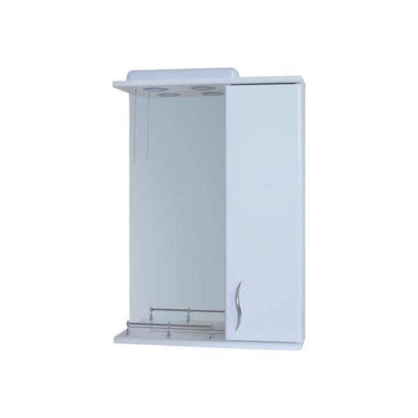 Зеркало для ванной комнаты Базис 50-02 правое ПИК