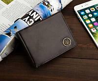 Чоловічий шкіряний гаманець Betlewski з RFID 12 х 9,2 х 3 (BPM-BF-61) - коричневий, фото 1