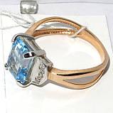 Золотое кольцо с топазом НХК-50, фото 3