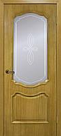 """Двері міжкімнатні ОМіС класика """"Кармен"""" СС+КР + скло ДНТ (600,700,800,900 мм)"""