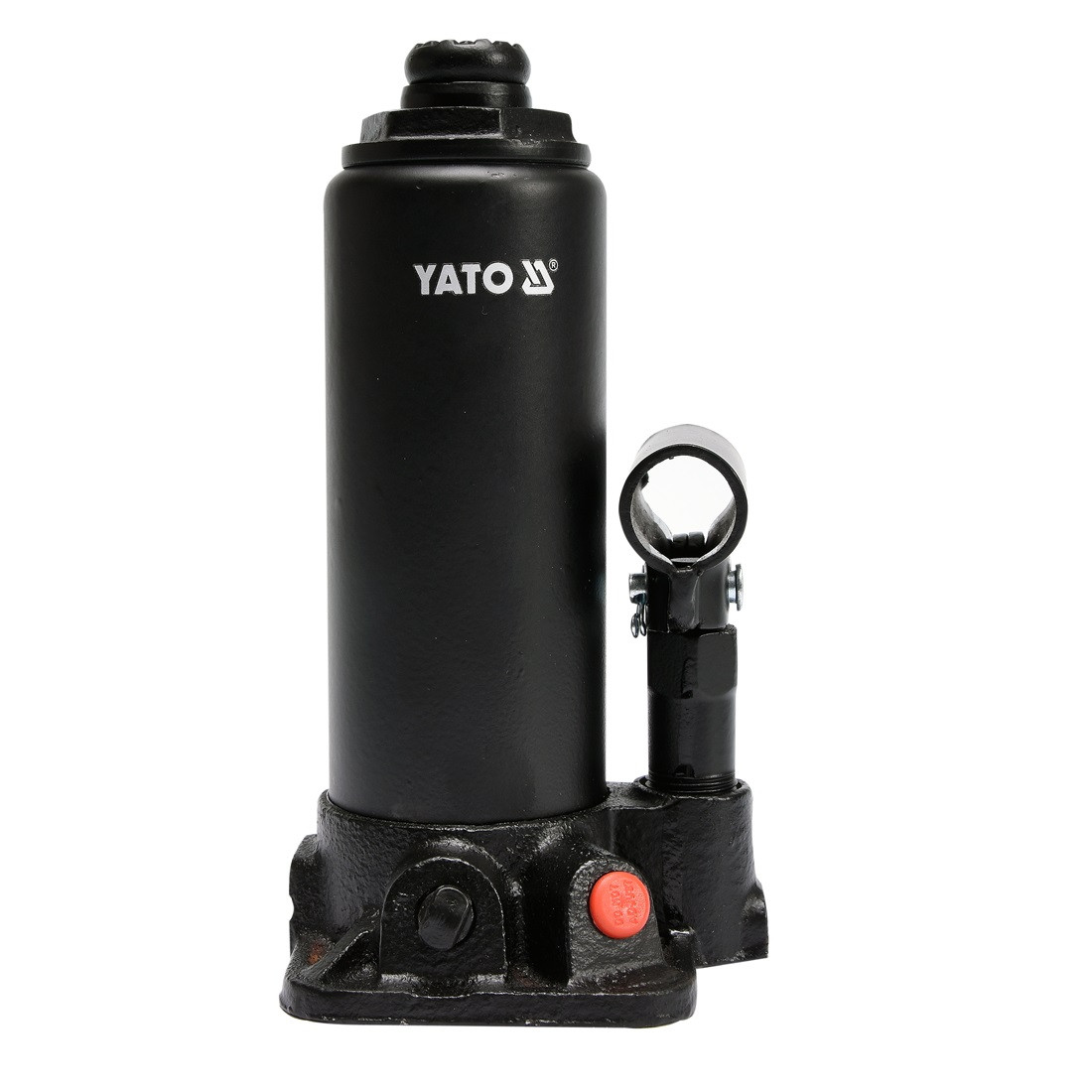 Домкрат гідравлічний пляшковий 3т 194-374мм YATO YT-17001