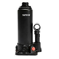 Домкрат гідравлічний пляшковий 3т 194-374мм YATO YT-17001, фото 1
