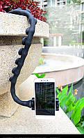 Селфиножка держатель для телефона универсальная подставка для смартфона черная Код МН-23