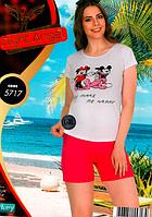 23,02 Обновление ассортимента.пижамы,туники женские из натурального хлопка.лосины женские