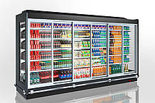 Холодильная пристенная витрина LOUISIANA AV 095/105/115 MT D A