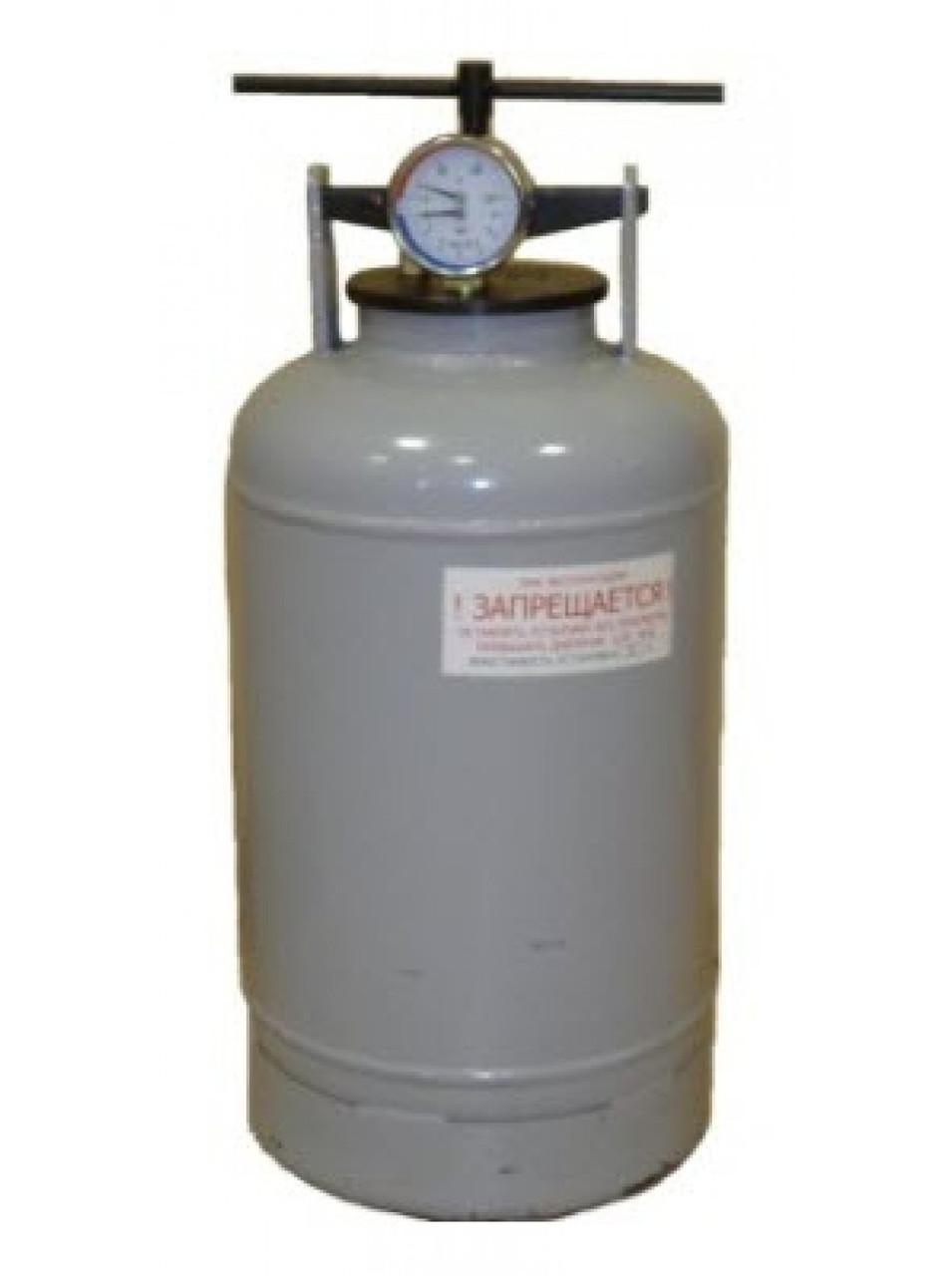 Бытовой автоклав 30 л на газе