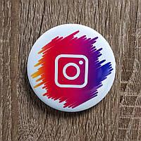 Значок с логотипом Instagram Рaints