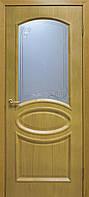 """Двері міжкімнатні ОМіС класика """"Лаура"""" СС+КР ДНТ+ скло (600,700,800,900 мм)"""
